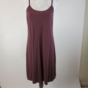 Eileen Fisher Silk spaghetti strap slip dress